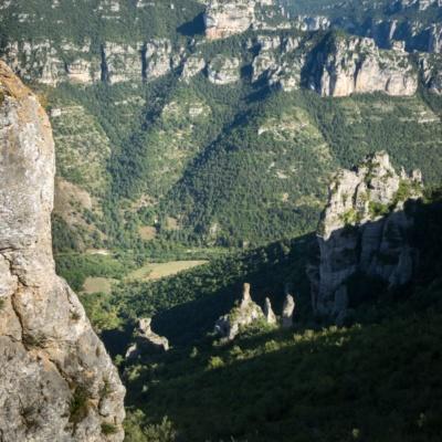 Plongée vers le Tarn (ph. E. Trannois)