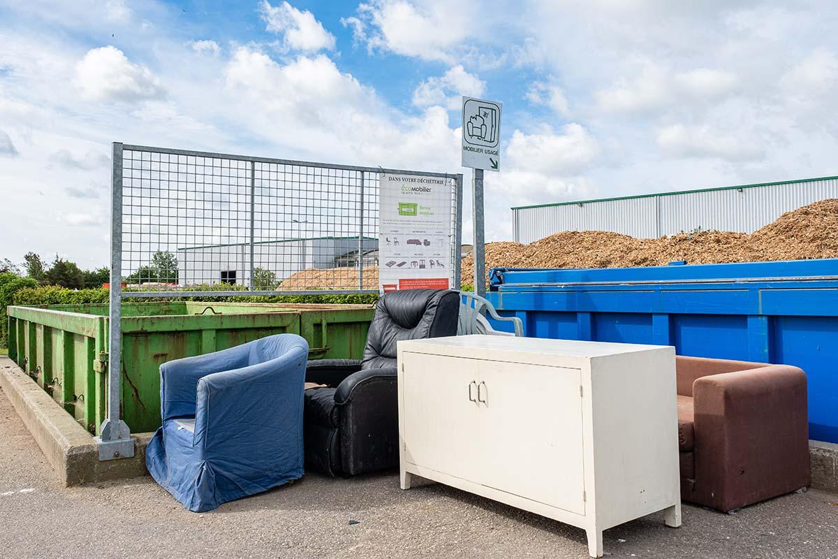 Le vieux mobilier se recycle aussi